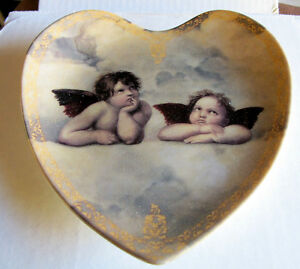 COLLECTOR PLATE (HEART SHAPED)