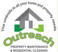 Outreach Property Maintenance and Residential Cleaning Services