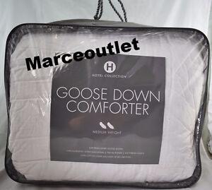 Hotel Collection European White Goose Down Comforter KING Medium Weight