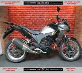 KAWASAKI VERSYS 300 X KLE300CHF WITH ONLY 94 MILES
