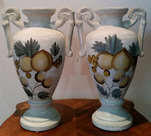 TUSCAN STYLE VASES