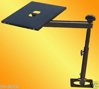 Laptop Notebook Holder Mount Stand for Cars, Autos, and Vehicles, made by steel