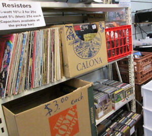 APR 1: 500+ rock/pop LPs, 45s and primo cassettes just in
