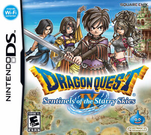 Dragon Quest IX - Sentinels of the Starry Skies gameboy ds