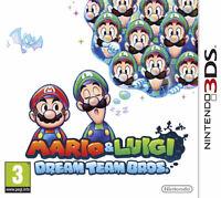 Mario et Luigi Dream team, nintendo DS
