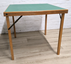 Vintage Card Table (DELIVERY AVAILABLE)