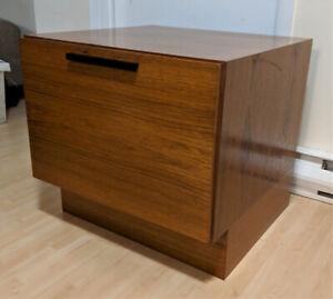 Teak Storage Cabinet Made in Denmark Mid Century Modern (MCM)