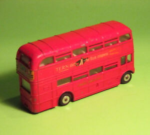 ANTIQUE DINKY TOY No. 289G ROUTEMASTER BUS, FAIR CONDITION