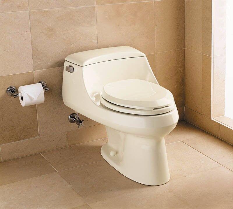 Kohler San Raphael 1pc. elongated 1.0 gpf toilet ALMOND. REDUCED!!