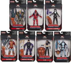 Marvel Legends Deadpool Series BAF Marvel's Sasquatch