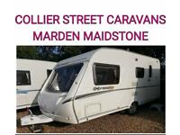 2008 abbey expression 520/4 berth caravan + movers