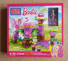 Barbie Mega Bloks Fairy Treehouse
