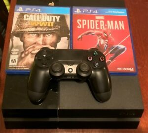 500gb PS4, Controller and 2 games