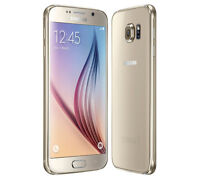THE CELL SHOP has a Mint Samsung S6 Gold, Unlocked+WIND, 32GB