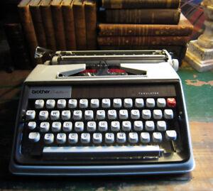 Vintage Brother 1970 Typewriter