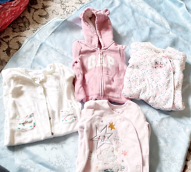 Bundle of baby girl clothes 3-6 months old