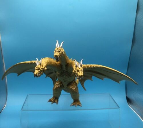 Godzilla Movie King of the Monster Ghidorah 3 Head Gold Dragon Toy Action Figure