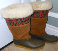 Baffin waterproof insulated nubuck winter boots