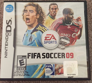 Fifa Soccer 09 DS Game Kitchener / Waterloo Kitchener Area image 1