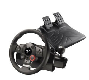 Logitech Driving Force GT Racing Wheel (Used, negotiable)