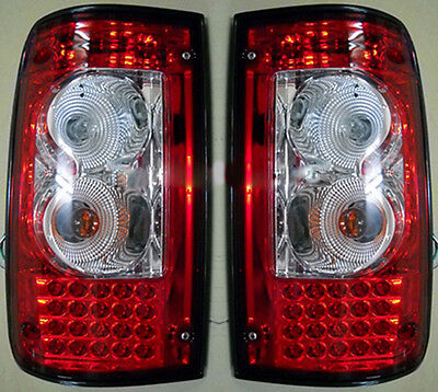 LED TAIL LAMP REAR LIGHT FOR TOYOTA HILUX MK3 SMOKE RED LN RN 1989-1997