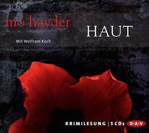 MO HAYDER Haut HÖRBUCH 5CDs WOLFRAM KOCH