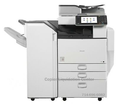 Color Office Copiers - Ricoh MP C4502 Color Copier, Print, Scan Speed 45 ppm, low meter lay
