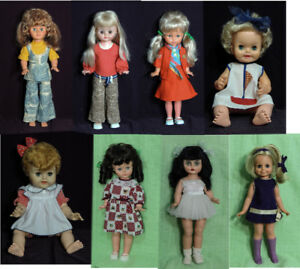 AMERICAN AND CANADIAN VINTAGE DOLLS