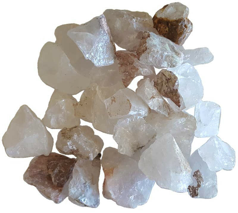Bulk Lot 1 lb Quartz Untumbled Raw Natural Stones Chakra Reiki Crystal Healing