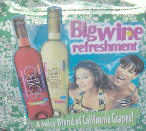 Soleo Big Wine Refreshment Sign  Colourful Tin Sign Belleville Belleville Area image 5