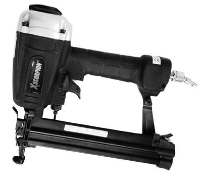 14 Pneumatic Lightweight Air Narrow Crown Stapler 18 Gauge 12 To 1-58 Usa