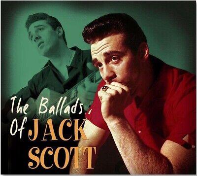 Rock 'n Roll CD - Jack Scott- The Ballads Of Jack Scott - Import - NEW / SEALED