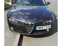 Alfa Romeo 159 2.4 JTDM Lusso diesel 210 bhp