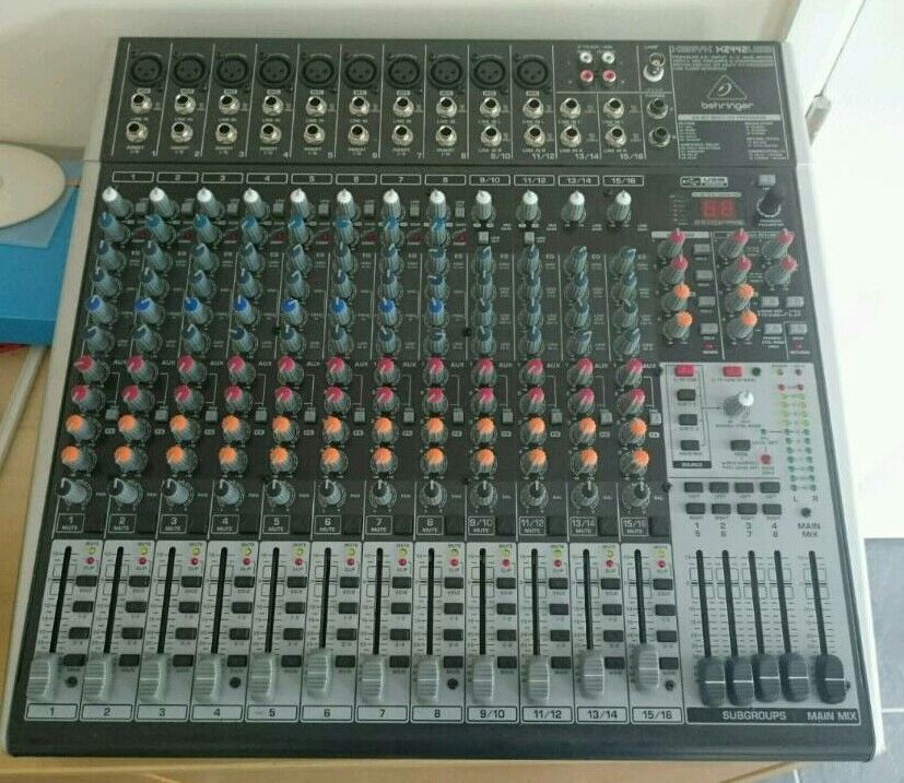 Behringer Xenyx X2442USB MIXING DESKin Atherstone, WarwickshireGumtree - Behringer Xenyx X2442USB MIXING DESK in very good condition and full working order can be seen working on collection