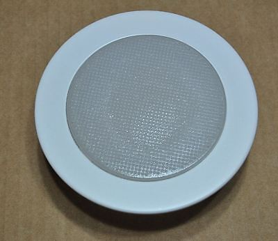 4 Inch Recessed Can 120v Light Frosted Glass Albalite Shower Trim Lens R20