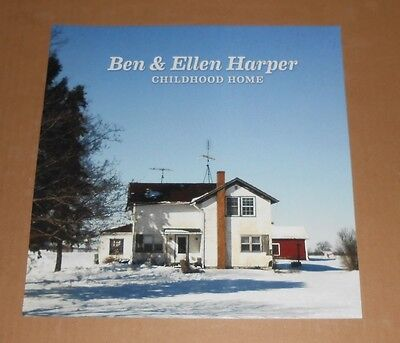 Ben & Ellen Harper Childhood Home Original Promo Poster Flat 12x12