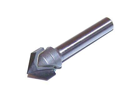 90 Deg V Bottom Bit 12 Dia .500 Carbide Tipped 14 Shank Onsrud 37-61