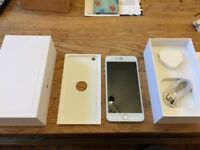 Used iPhone 64gb Silver Iphone - Box - Charger - New screen & Touch IC