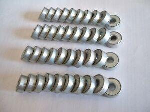 Unidentified 40 Lot Small Galvanized Steel Conveyor Roller Ball Bearings Bearing