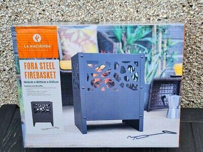 🔥La Hacienda Fora Steel Fire Basket Fire Pit, Log Burner, Patio Heater 🔥