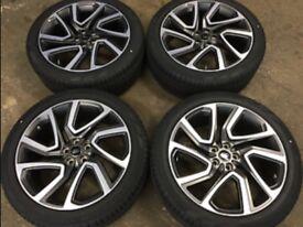 """Genuine Land Rover 5025 22"""" Wheels"""