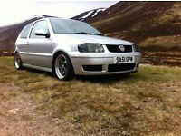 Vw polo 51 reg moted
