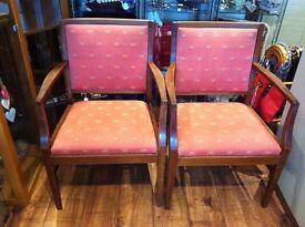 Pair of His and Hers Chairs - REDUCED