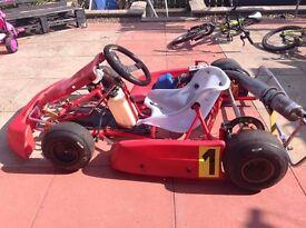 Cadet racing kart (kids go kart) 60cc