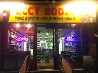 OFF LICENCE in Sheffield for Sale.