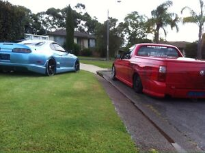 PRICE DROPED bagged Vy Manual Ute Airbrushing Toronto Lake Macquarie Area Preview