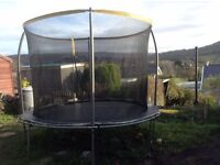 10ft Trampoline. Excellent condition hardly used just one year old. Bought from Argos Sportswear .