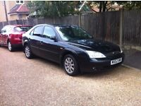 Ford Mondeo 2002 Very economical 2 litre, 1 YEARS MOT Only 85k Miles