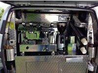 Mobile coffee van, Espresso machine, 12 Months MOT, low mileage, Great buisness