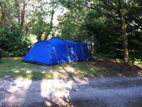 5 man Vango 500 Tent plus extras.